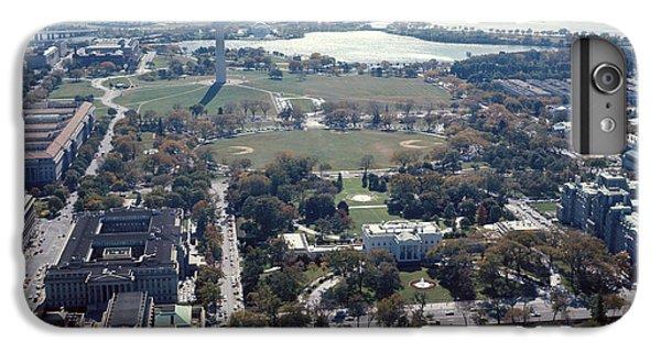 Washington Monument iPhone 6 Plus Case - 1960s Aerial View Washington Monument by Vintage Images