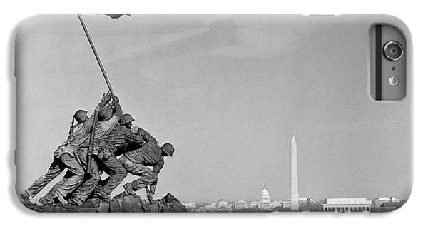 Capitol Building iPhone 6 Plus Case - 1960s Marine Corps Monument by Vintage Images