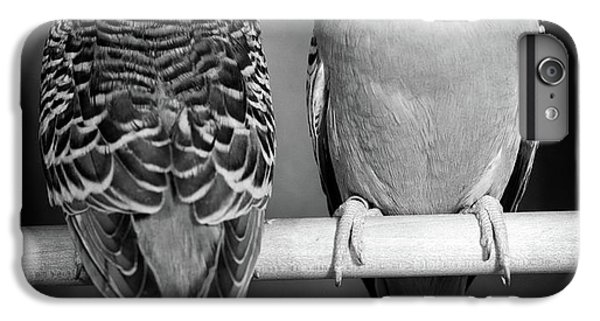 1960s Pair Of Parakeets Perched IPhone 6 Plus Case