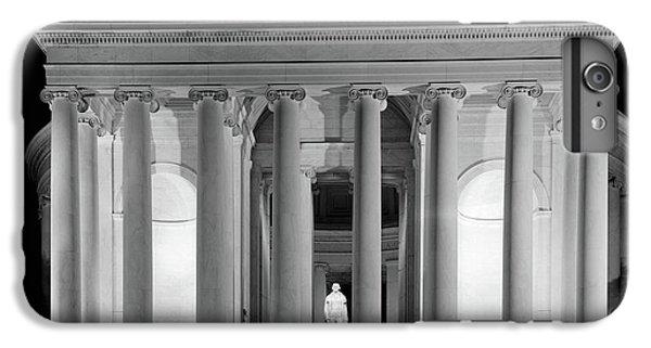 Jefferson Memorial iPhone 6 Plus Case - 1960s Thomas Jefferson Memorial Lit by Vintage Images