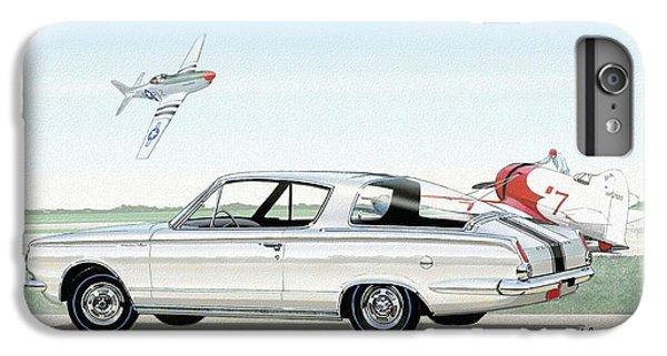 1965 Barracuda  Classic Plymouth Muscle Car IPhone 6 Plus Case by John Samsen