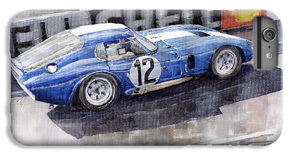 1965 Le Mans  Daytona Cobra Coupe  IPhone 6 Plus Case by Yuriy Shevchuk