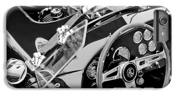 Ac Shelby Cobra Engine - Steering Wheel IPhone 6 Plus Case