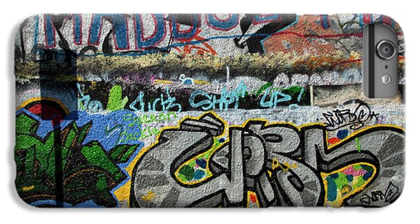 U2 iPhone 6 Plus Case - Artistic Graffiti On The U2 Wall by Panoramic Images