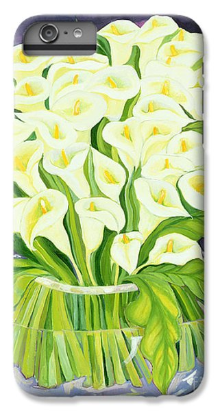 Lily iPhone 6 Plus Case - Calla Lilies by Laila Shawa