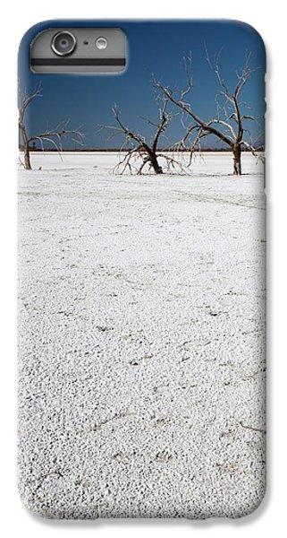 Dead Trees On Salt Flat IPhone 6 Plus Case