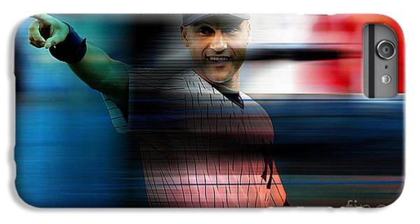 Derek Jeter IPhone 6 Plus Case by Marvin Blaine