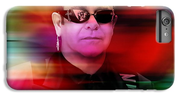 Elton John iPhone 6 Plus Case - Elton John by Marvin Blaine
