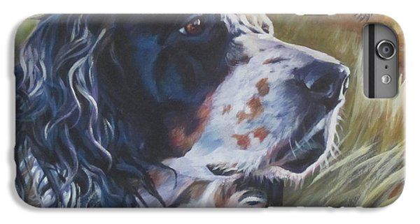 Pheasant iPhone 6 Plus Case - English Setter by Lee Ann Shepard