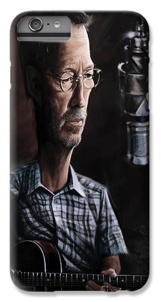 Eric Clapton IPhone 6 Plus Case by Andre Koekemoer