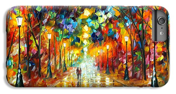 Afremov iPhone 6 Plus Case - Farewell To Anger by Leonid Afremov