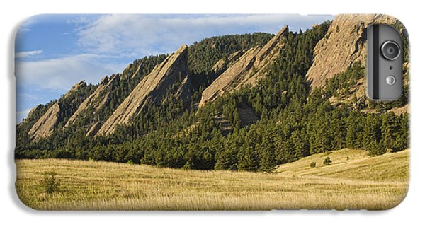 Flatirons With Golden Grass Boulder Colorado IPhone 6 Plus Case
