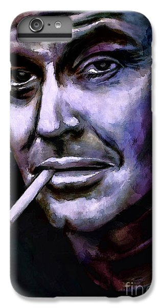Jack Nicholson iPhone 6 Plus Case - Jack Nicholson by Andrzej Szczerski
