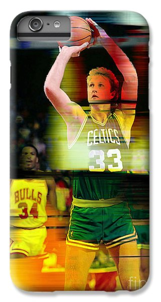 Larry Bird IPhone 6 Plus Case by Marvin Blaine