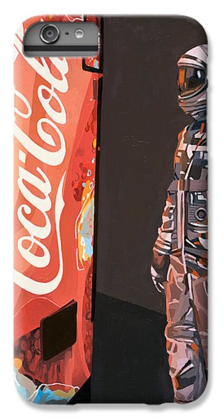 IPhone 6 Plus Case featuring the painting The Coke Machine by Scott Listfield