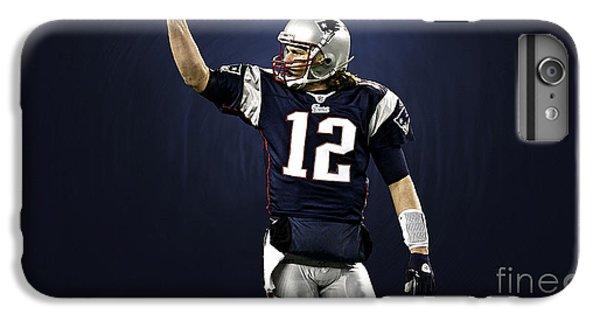 Tom Brady IPhone 6 Plus Case by Marvin Blaine