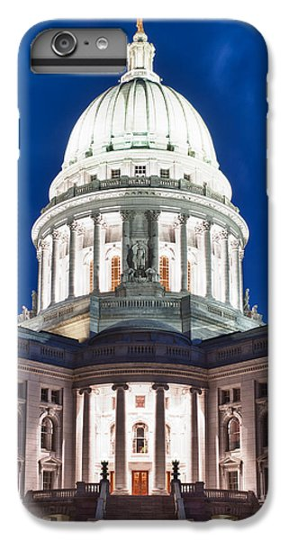 Wisconsin State Capitol Building At Night IPhone 6 Plus Case