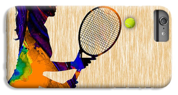 Womens Tennis IPhone 6 Plus Case by Marvin Blaine