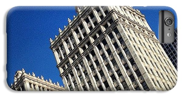 Light iPhone 6 Plus Case - Wrigley Building- Chicago by Mike Maher