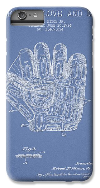 Baseball Glove Patent Drawing From 1924 IPhone 6 Plus Case