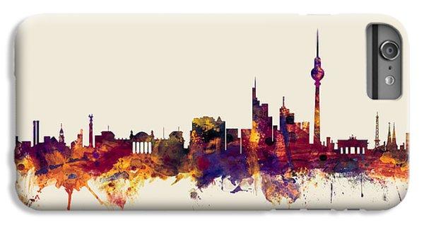 Berlin iPhone 6 Plus Case - Berlin Germany Skyline by Michael Tompsett