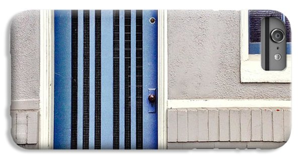 Blue Door IPhone 6 Plus Case