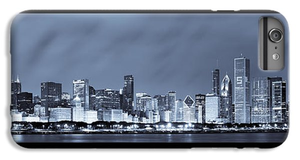Chicago Skyline At Night IPhone 6 Plus Case by Sebastian Musial