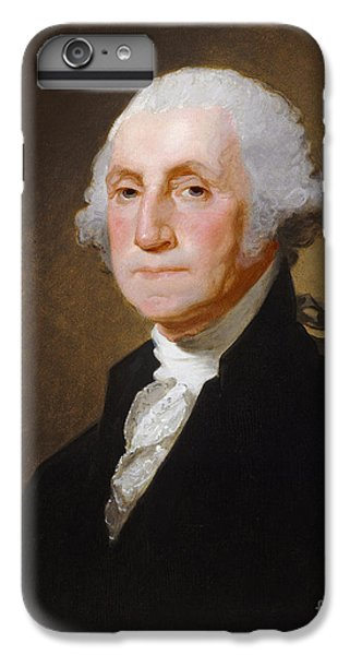 George Washington IPhone 6 Plus Case by Gilbert Stuart