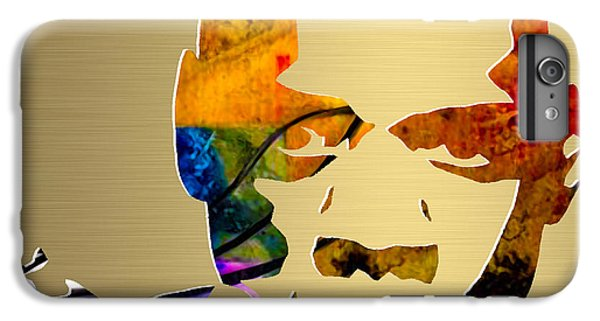 Jay Z Gold Series IPhone 6 Plus Case by Marvin Blaine