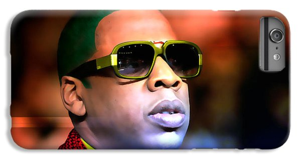 Jay Z IPhone 6 Plus Case by Marvin Blaine