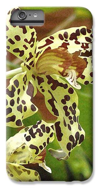 Leopard Orchids IPhone 6 Plus Case