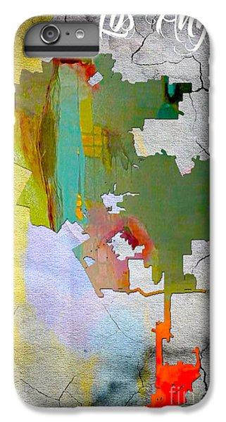 Los Angeles Map Watercolor IPhone 6 Plus Case