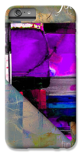 Nevada State Map Watercolor IPhone 6 Plus Case by Marvin Blaine