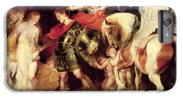 Perseus Liberating Andromeda IPhone 6 Plus Case by Peter Paul Rubens