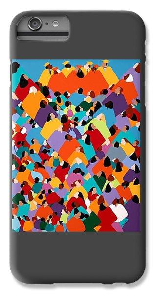 iPhone 6 Plus Case - Powerfull Ywcagla by Synthia SAINT JAMES