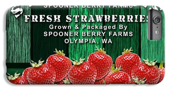 Strawberry Farm IPhone 6 Plus Case by Marvin Blaine