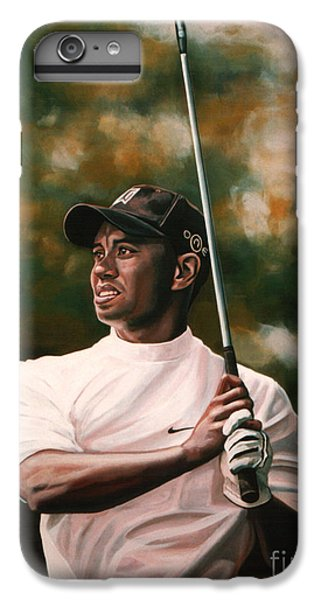 Tiger Woods  IPhone 6 Plus Case by Paul Meijering