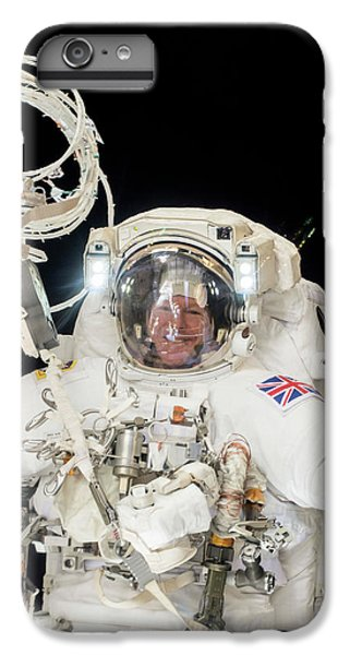 Emu iPhone 6 Plus Case - Tim Peake's Spacewalk by Nasa
