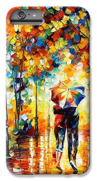 Afremov iPhone 6 Plus Case - Under One Umbrella by Leonid Afremov