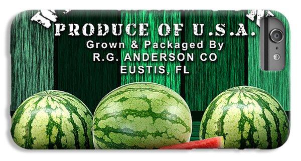 Watermelon Farm IPhone 6 Plus Case by Marvin Blaine