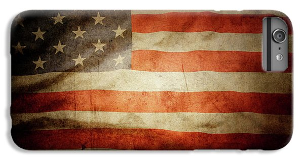 Landmarks iPhone 6 Plus Case - American Flag  by Les Cunliffe