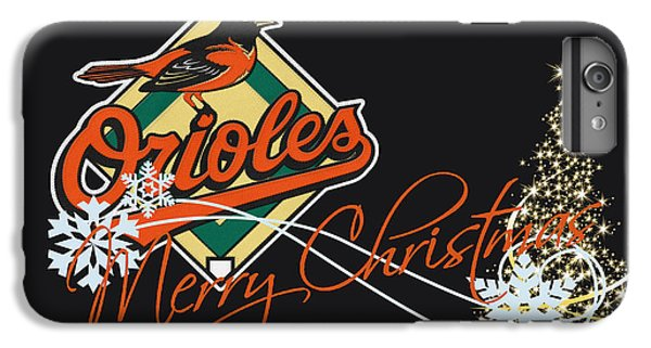 Oriole iPhone 6 Plus Case - Baltimore Orioles by Joe Hamilton