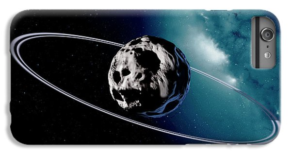 Chariklo Minor Planet And Rings IPhone 6 Plus Case by Detlev Van Ravenswaay
