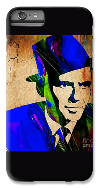 Frank Sinatra Painting IPhone 6 Plus Case by Marvin Blaine