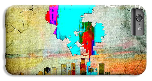 Los Angeles Map And Skyline IPhone 6 Plus Case