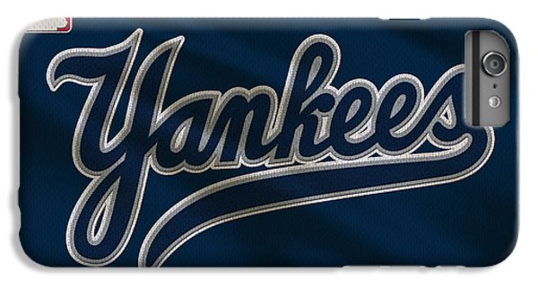 New York Yankees Uniform IPhone 6 Plus Case by Joe Hamilton