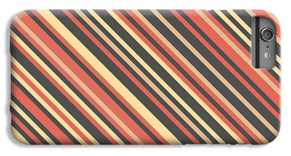 Fruit iPhone 6 Plus Case - Striped Pattern by Mike Taylor