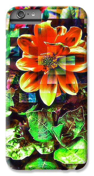 Abstract Flowers IPhone 6 Plus Case