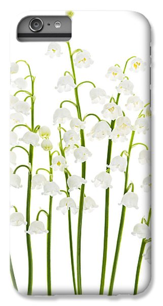 Lily iPhone 6 Plus Case - Lily-of-the-valley Flowers  by Elena Elisseeva