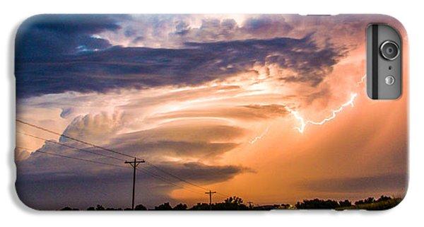Nebraskasc iPhone 6 Plus Case - Wicked Good Nebraska Supercell by NebraskaSC